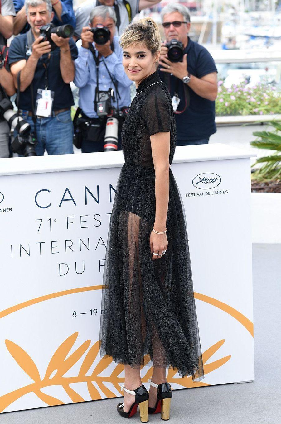 Sofia Boutella a osé la transparence à Cannes.
