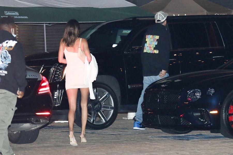 Kendall Jenner etDevin Bookerà Malibu le 15 août 2020