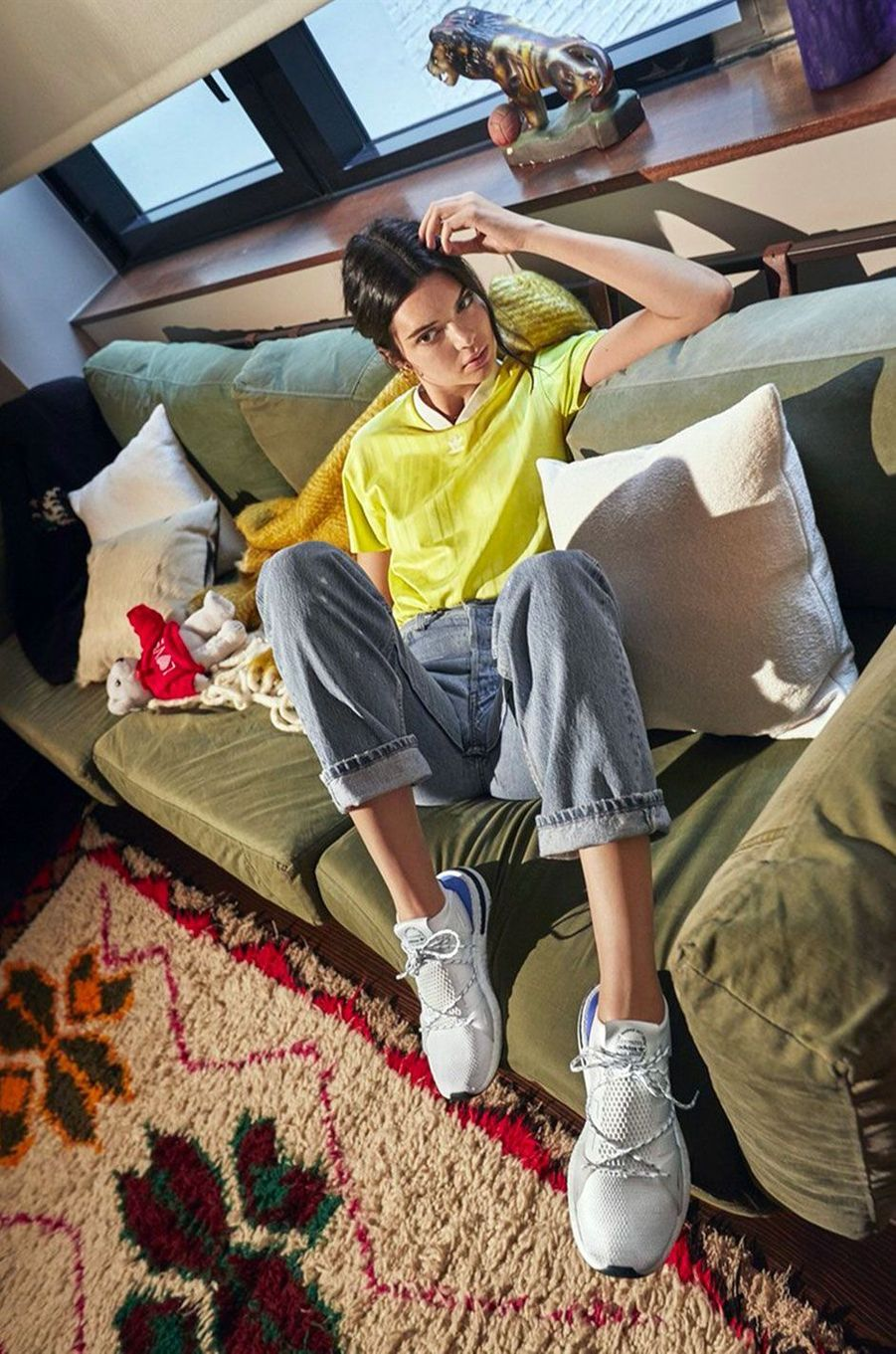 Kendall Jenner dévoile son incroyable dressing pour adidas
