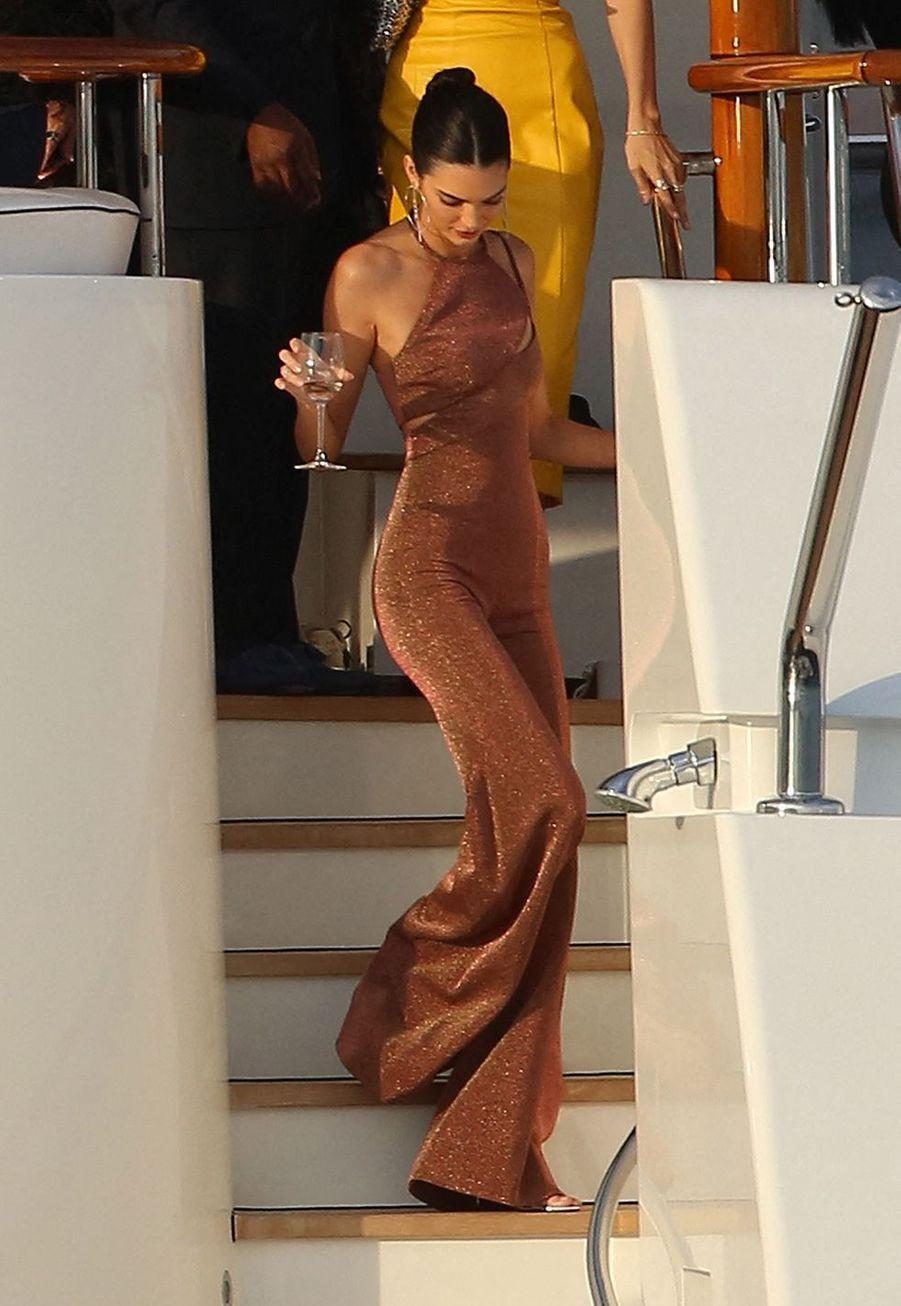 Kendall Jenner à Monaco le 25 mai 2019