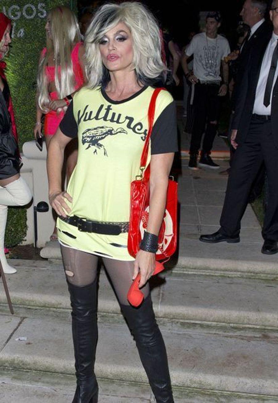 Cindy Crawford à la soirée Casamigos, à Los Angeles, samedi 26 octobre