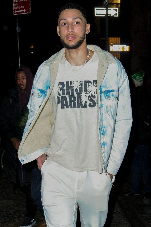 Ben Simmons à New York le 7 février 2019