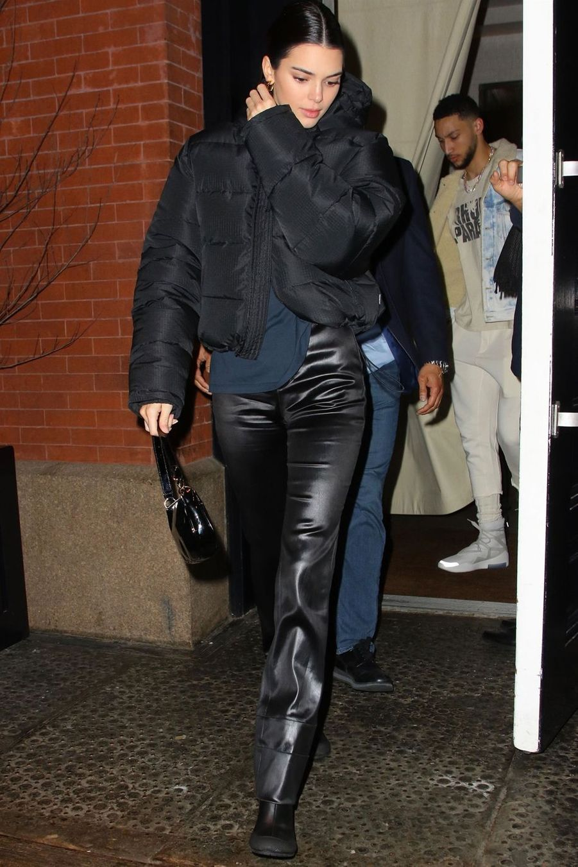 Kendall Jenner à New York le 7 février 2019