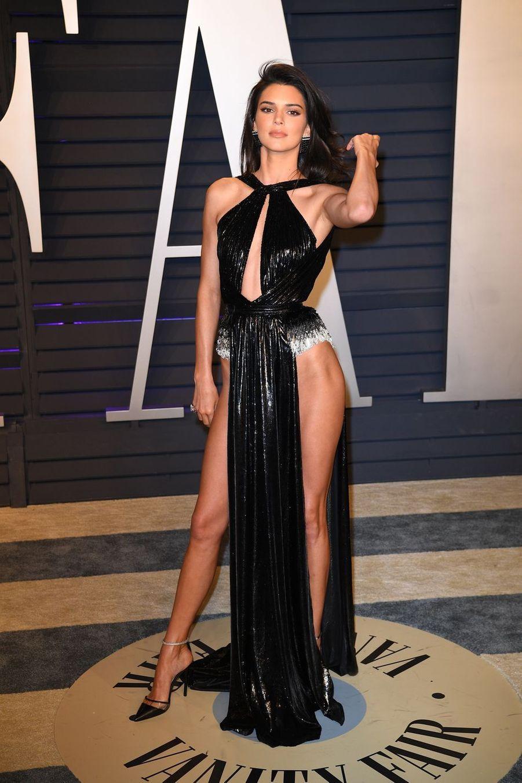 Kendall Jenner lors de la soirée Vanity Fair Oscar Party à Los Angeles, le 24 février 2019