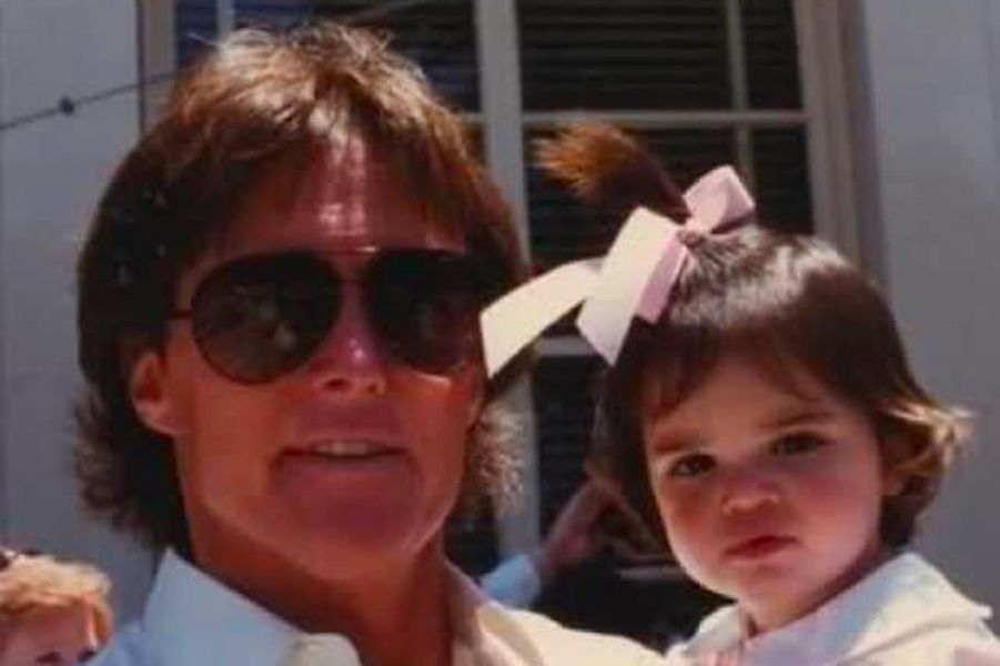 Kendall Jenner et son père William Bruce (devenu ensuite Caitlyn Jenner)