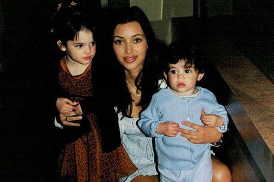 Kendall Jenner, Kylie Jenner et leur soeur Kim Kardashian