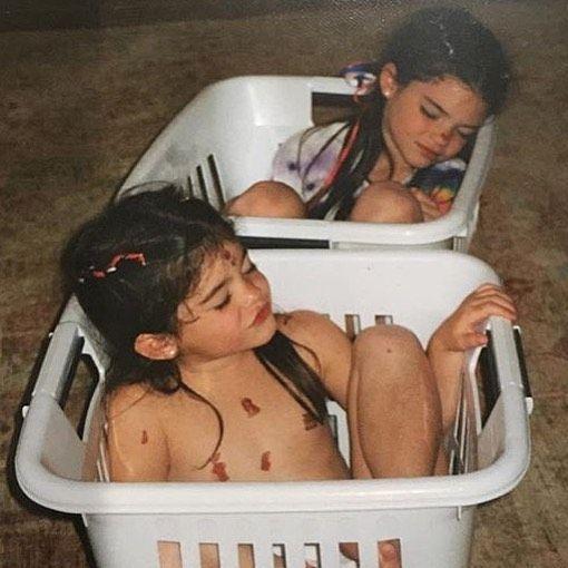 Kendall Jenner et sa petite soeur