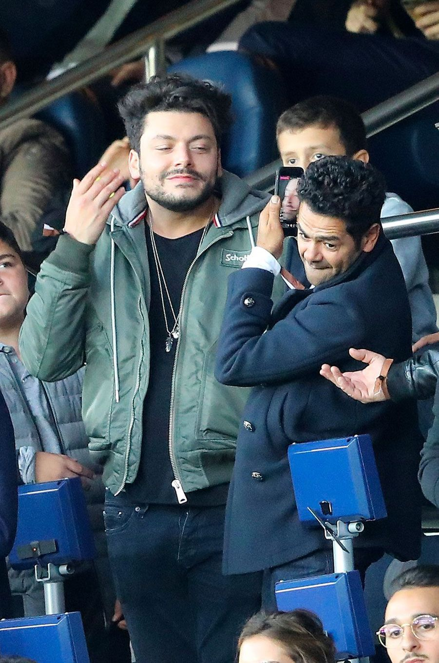 Kev Adams et Jamel Debbouze