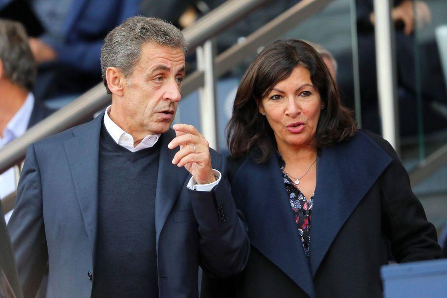 Nicolas Sarkozy et Anne Hidalgo