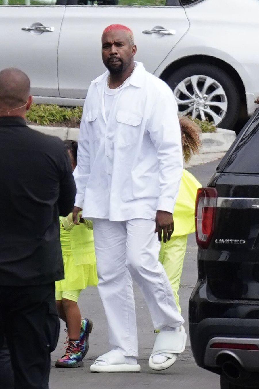 Kanye West à Calabasas le 3 mars 2019