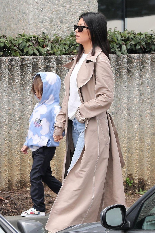 Kourtney Kardashian et son fils Reign à Calabasas le 3 mars 2019