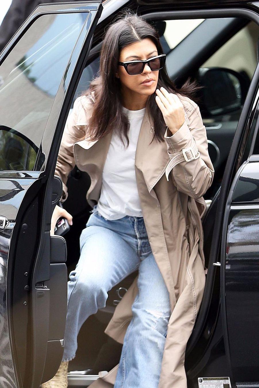 Kourtney Kardashian à Calabasas le 3 mars 2019