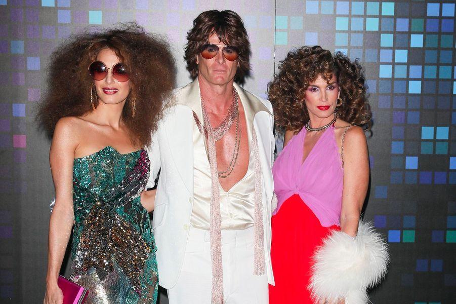 Les déguisements d'Amal Clooney, Rande Gerber et Cindy Crawford pour Halloween