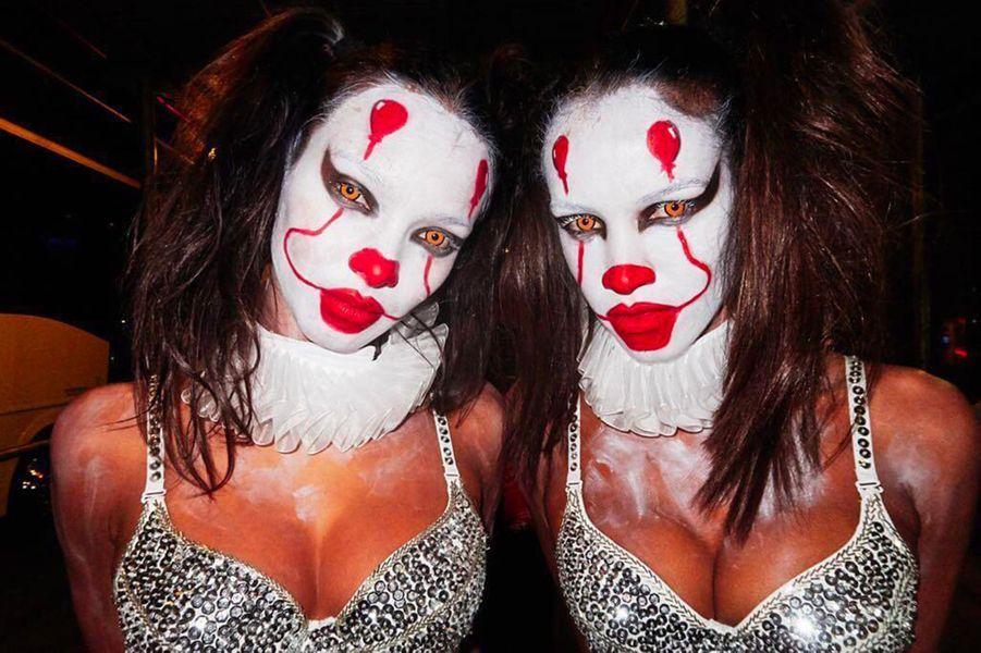 Le déguisement de Lais Ribeiro pour Halloween