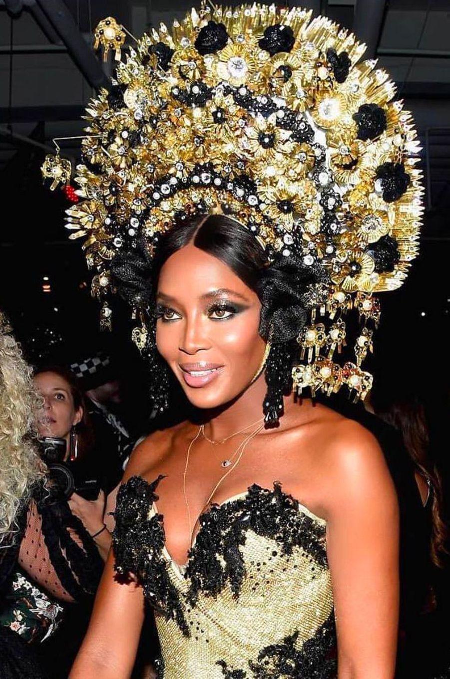 Le déguisement de Naomi Campbell pour Halloween