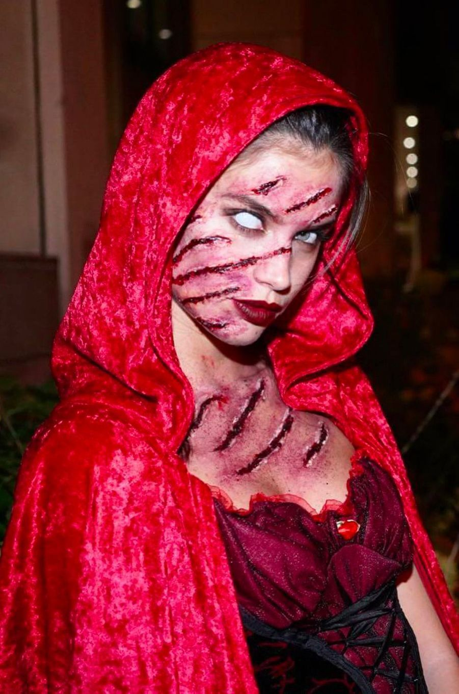 Le déguisement de Sara Sampaio pour Halloween