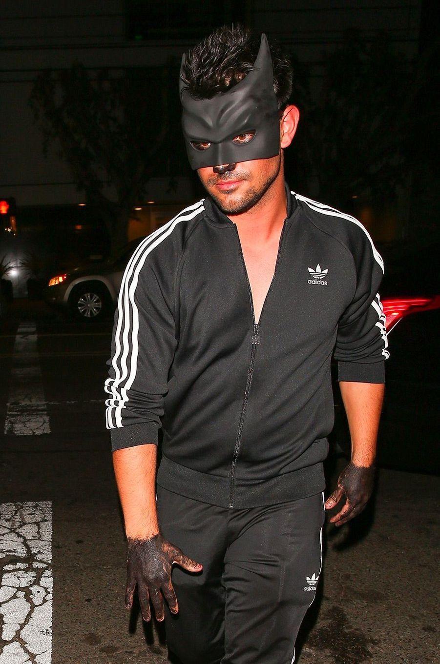 Le déguisement de Taylor Lautner pour Halloween