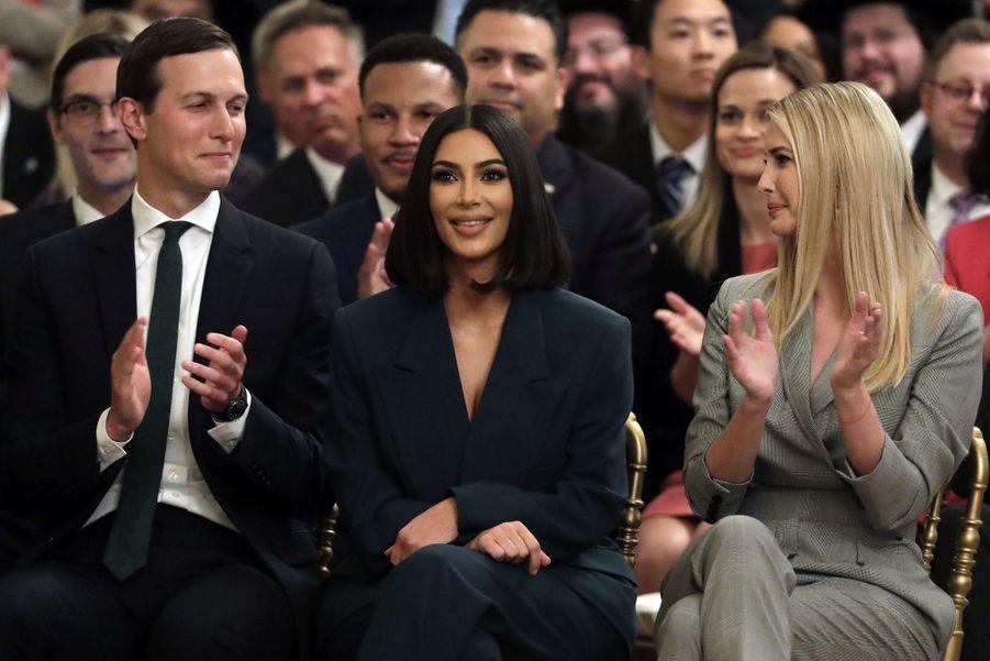 Kim Kardashian a rencontré Donald Trump à la Maison Blanche