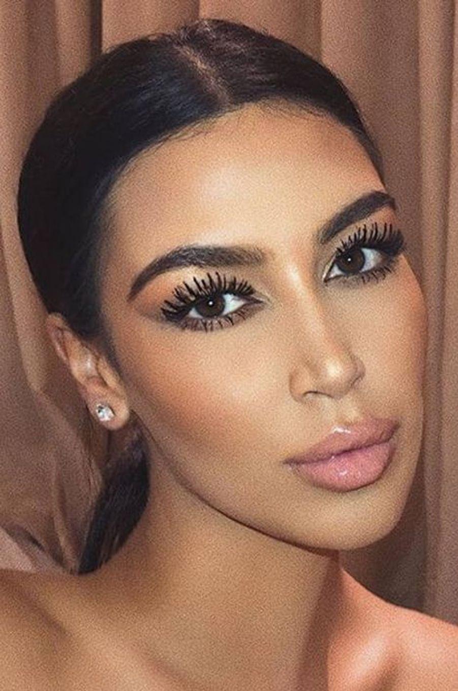 Sonia Ali, le sosie le plus connu de Kim Kardashian.