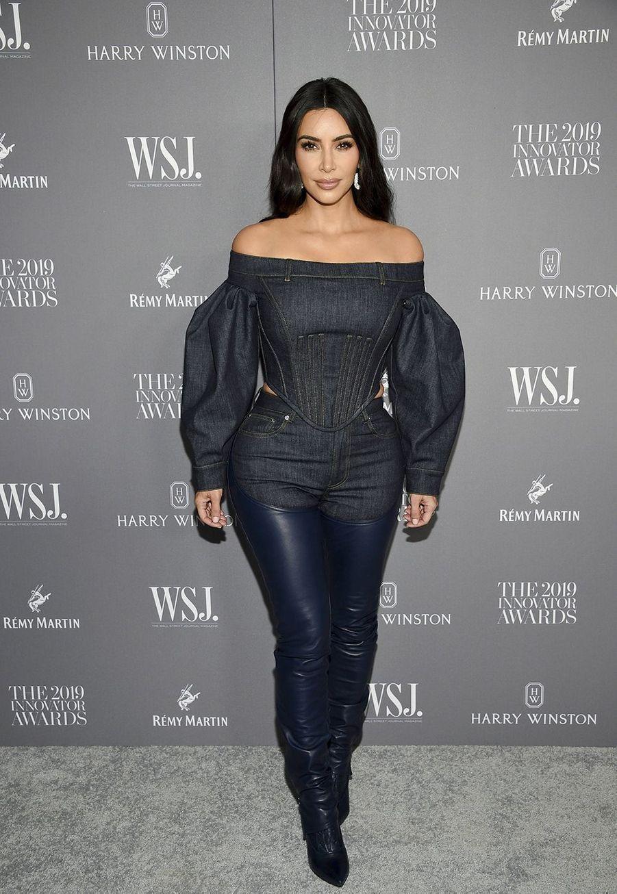Kim Kardashianà la 9e édition des WSJ. Magazine Innovator Awards à New York le 6 novembre 2019