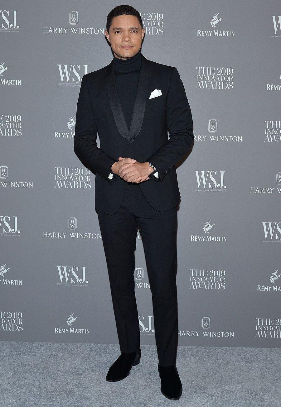 Trevor Noahà la 9e édition des WSJ. Magazine Innovator Awards à New York le 6 novembre 2019