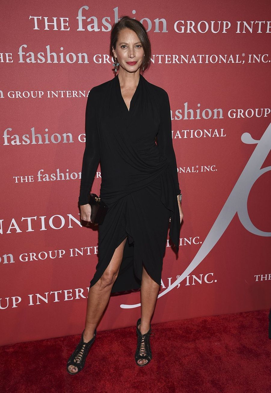 "Christy Turlington lors du gala ""The Night of Stars"" à New York le 24 octobre 2019."