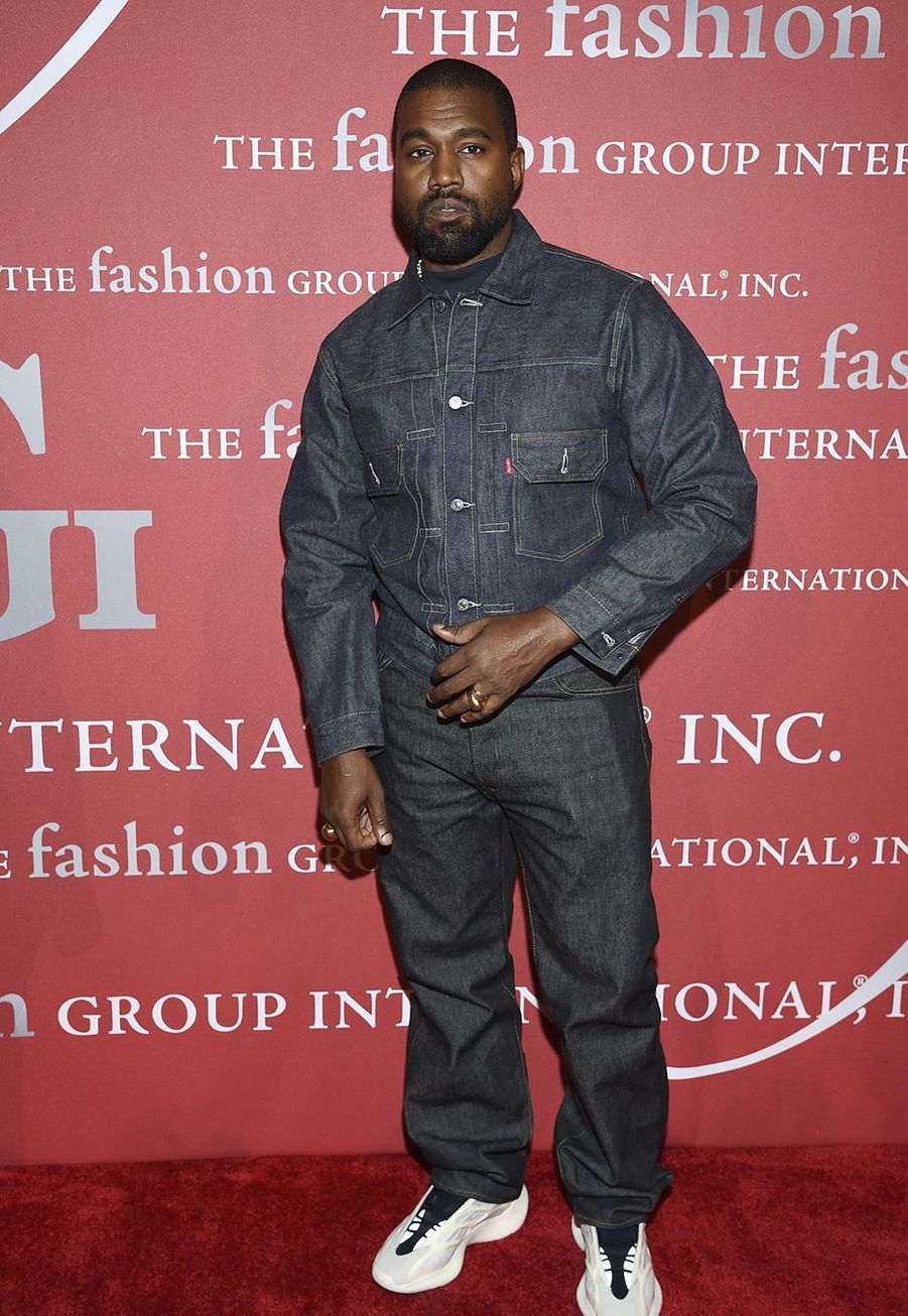 "Kanye West lors du gala ""The Night of Stars"" à New York le 24 octobre 2019."