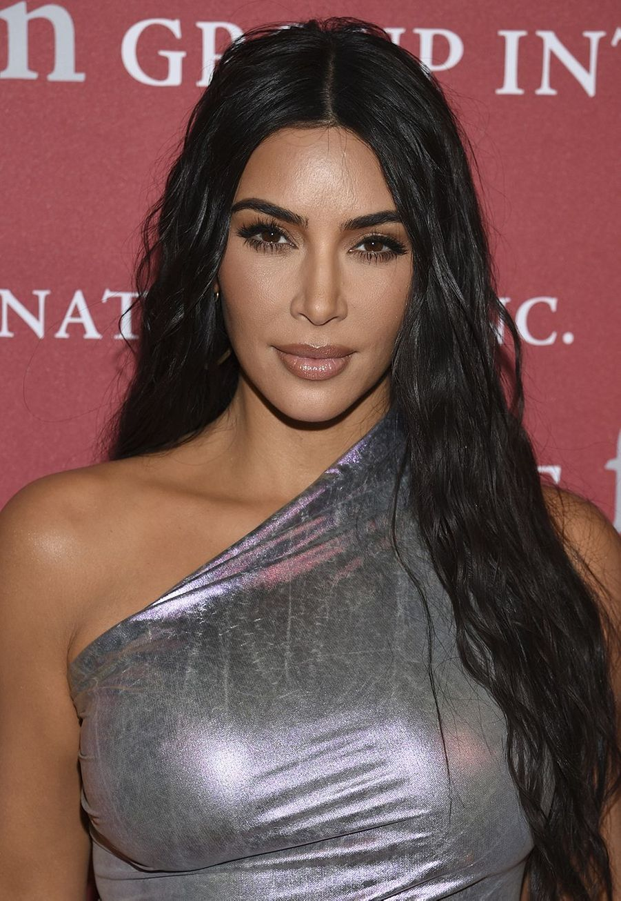 "Kim Kardashian lors du gala ""The Night of Stars"" à New York le 24 octobre 2019."