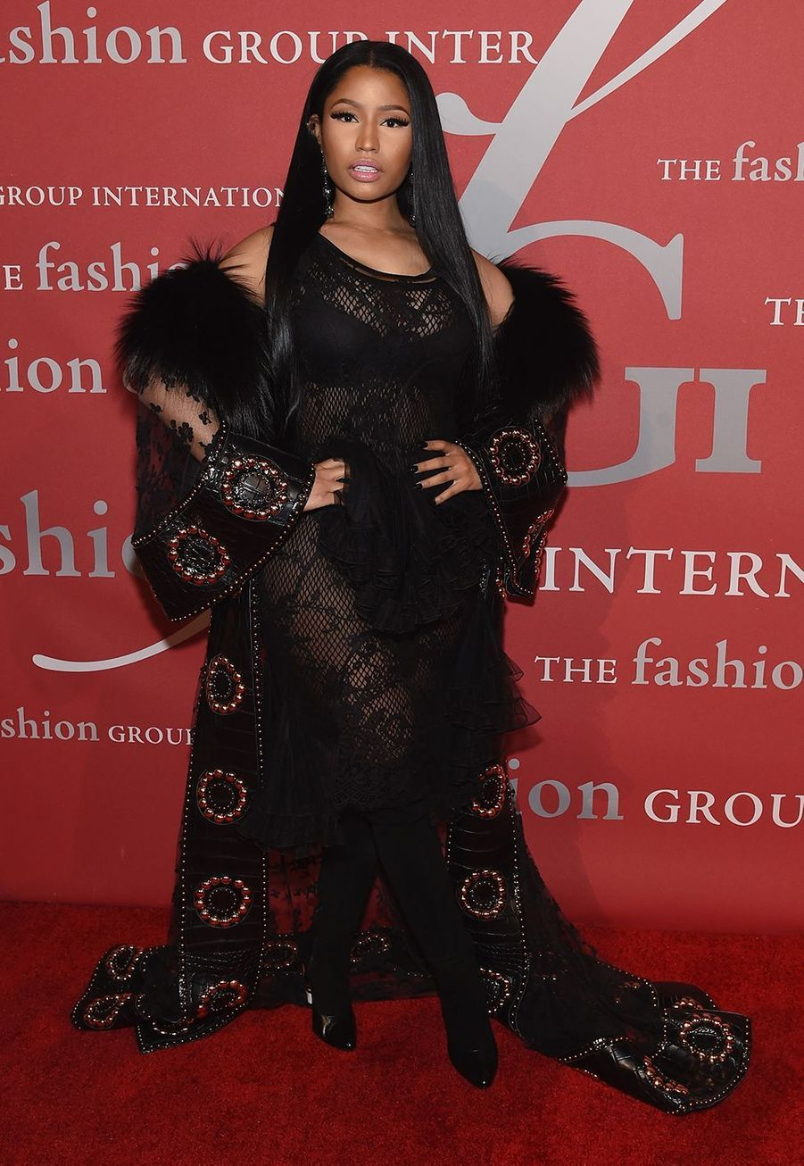 "Nicki Minaj lors du gala ""The Night of Stars"" à New York le 24 octobre 2019."