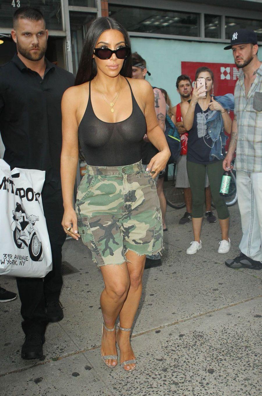 Kim Kardashian à New York