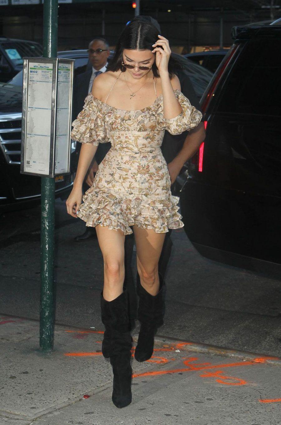 Kendall Jenner à New York