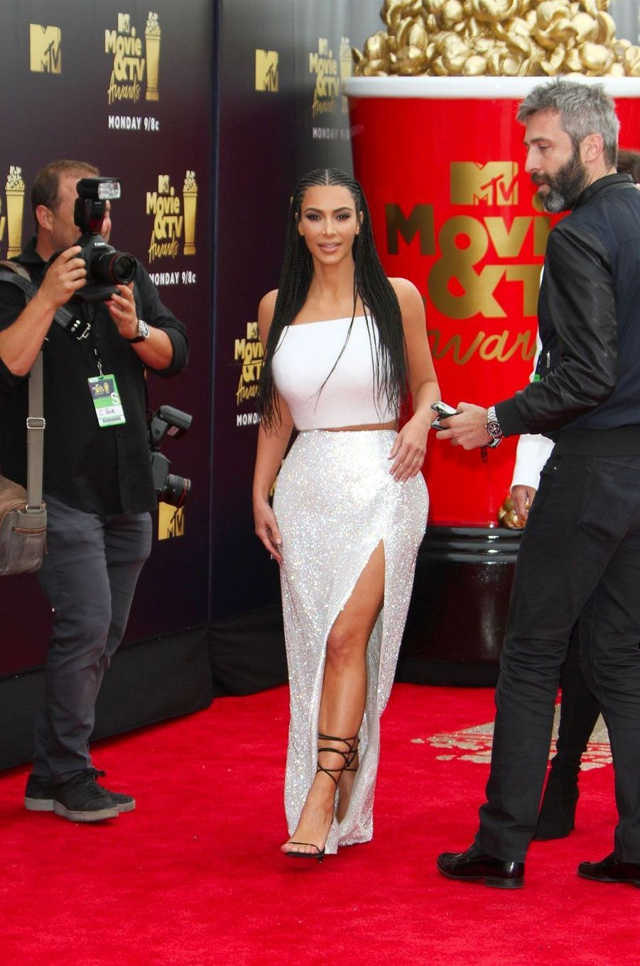 Kim Kardashian aux MTV Movie Awards le 16 juin 2018