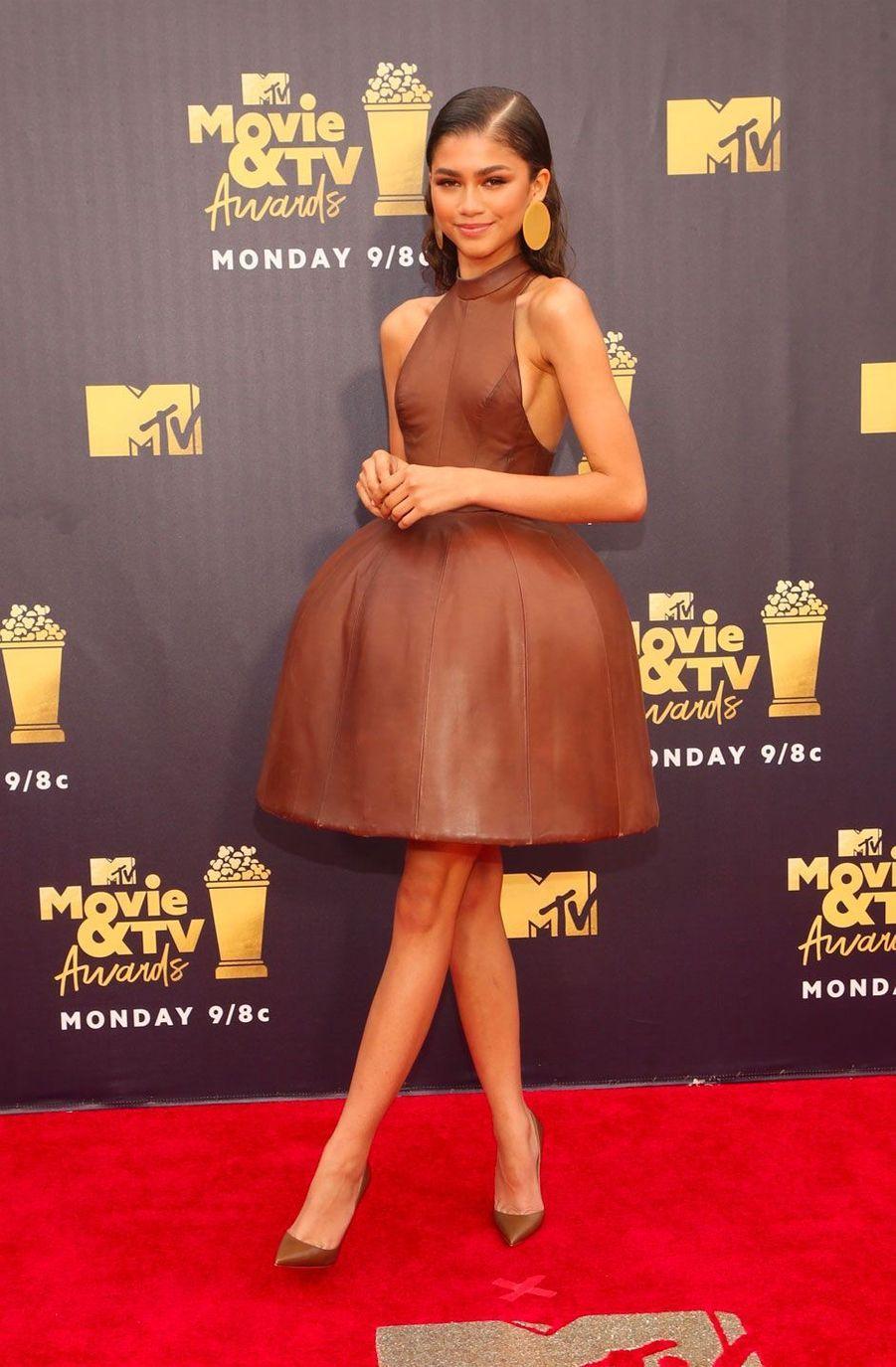 Zendaya aux MTV Movie Awards le 16 juin 2018
