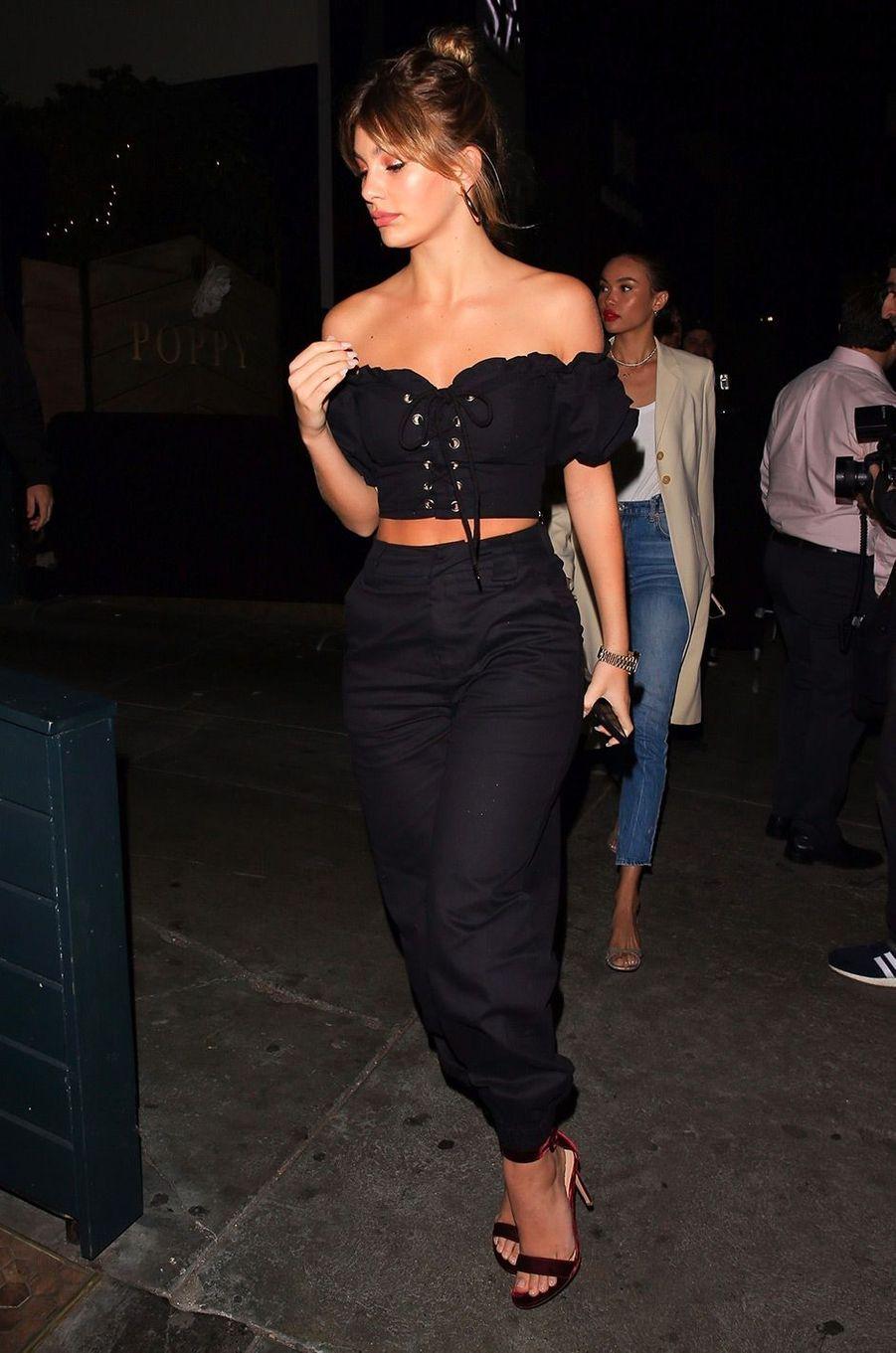Camila Morrone arriveà l'anniversaire de Kendall Jenner