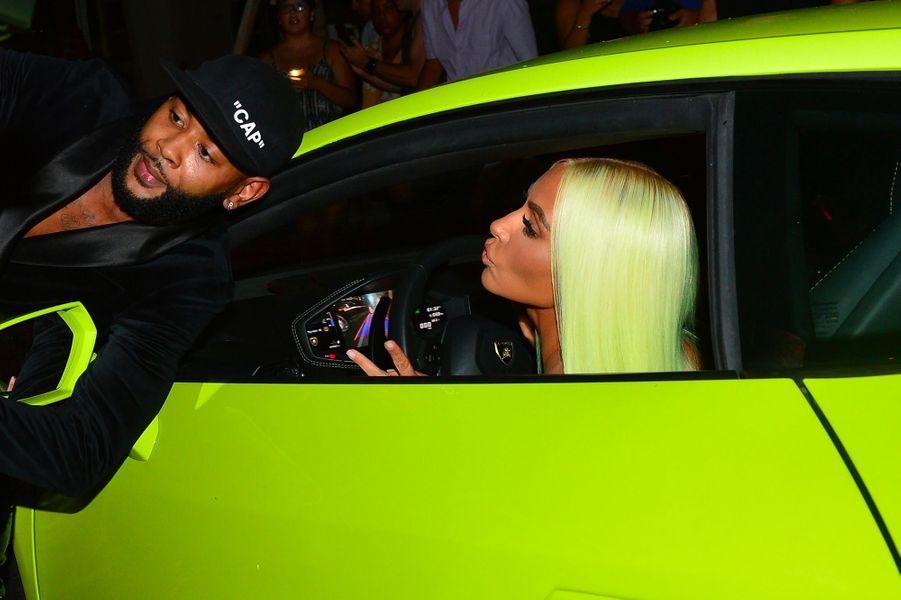 Kim Kardashian à Miami, jeudi 16 août