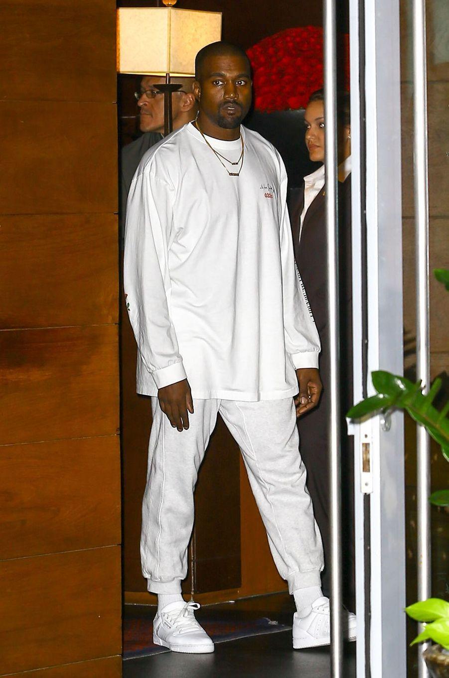Kanye West à Miami, le 17 septembre 2016.