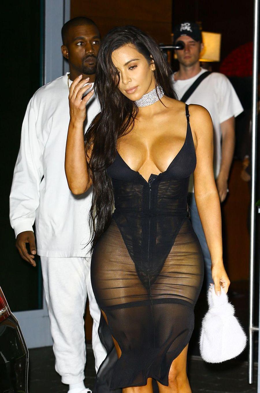 Kim Kardashian à Miami, le 17 septembre 2016.