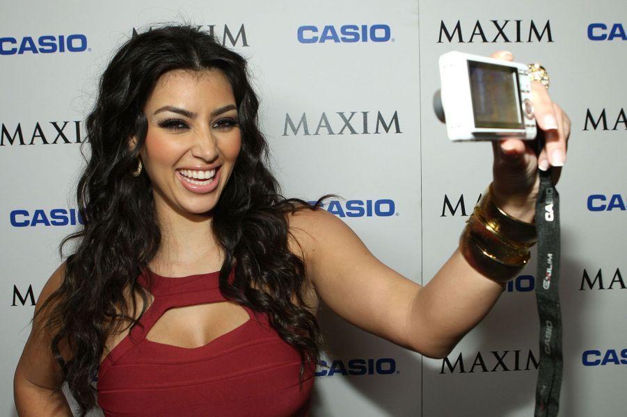 Kim Kardashian, la pro des selfies.
