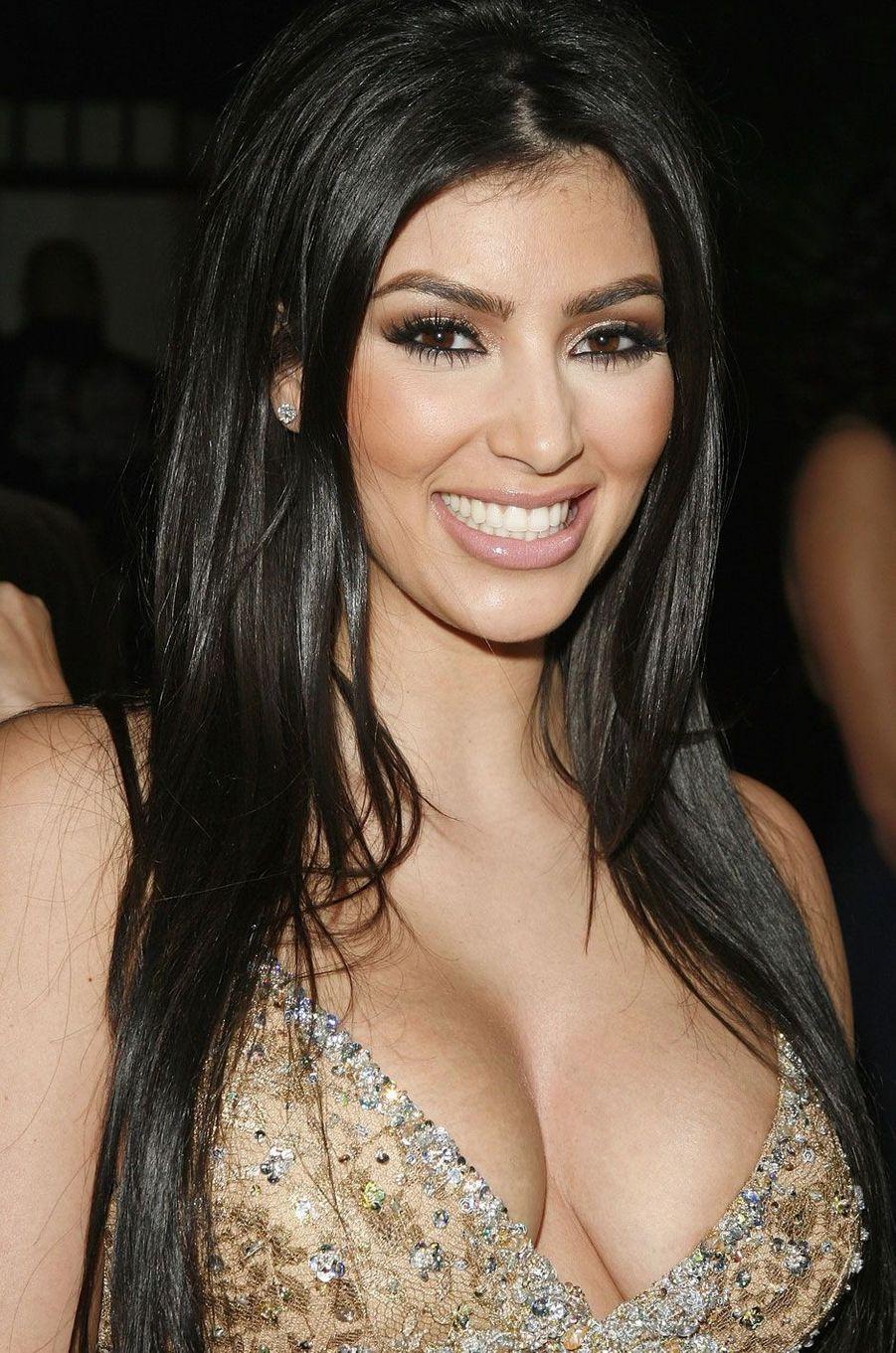 Kim Kardashian jeune.