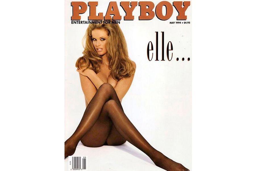 Elle Macpherson en couverture de Playboy