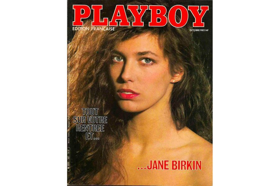 Jane Birkin en couverture de Playboy