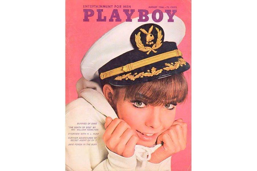 Jane Fonda en couverture de Playboy
