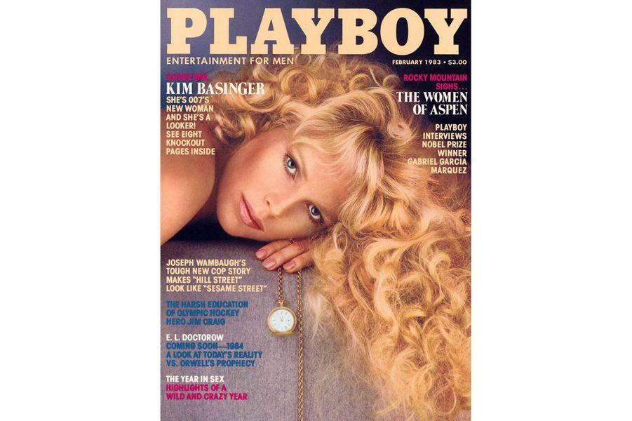 Kim Basingeren couverture de Playboy