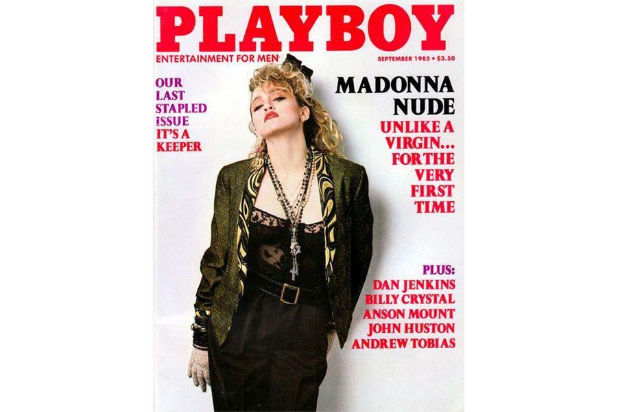 Madonnaen couverture de Playboy