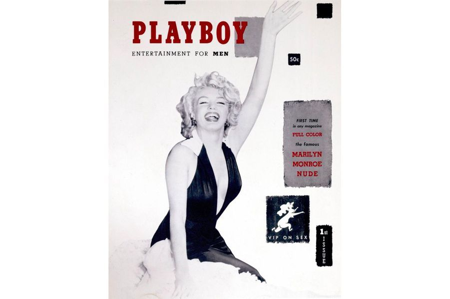 Marilyn Monroe en couverture de Playboy