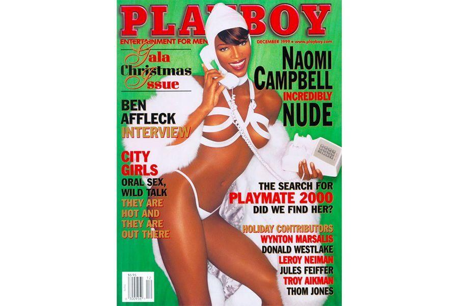 Naomi Campbellen couverture de Playboy