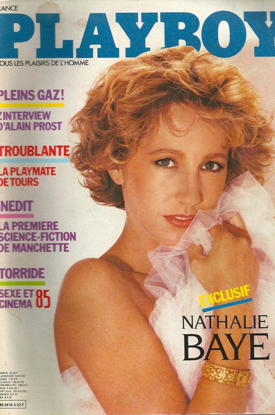 Nathalie Bayeen couverture de Playboy