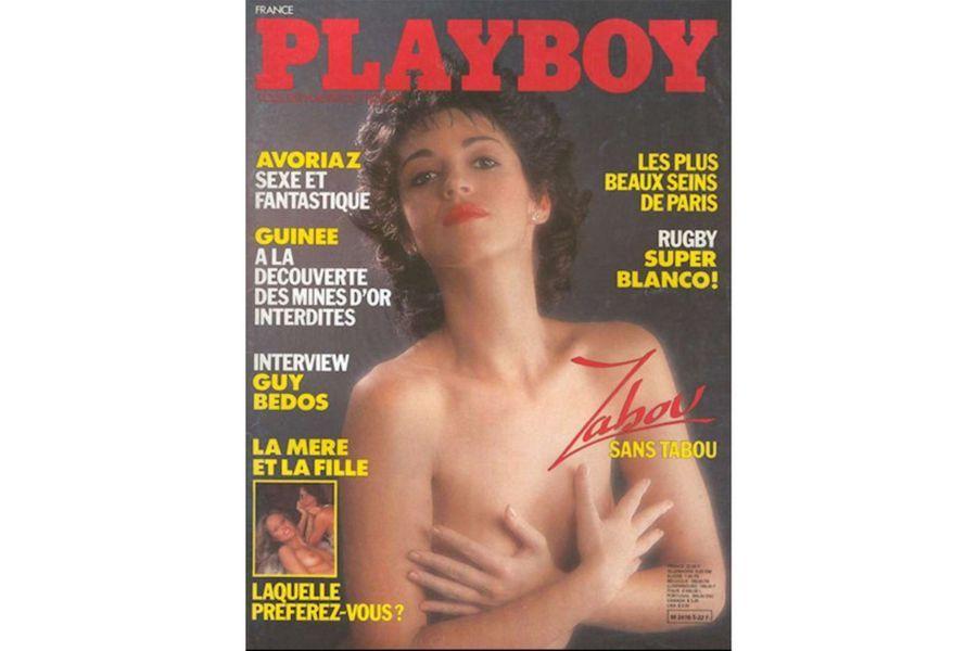 Zabou Breitmanen couverture de Playboy