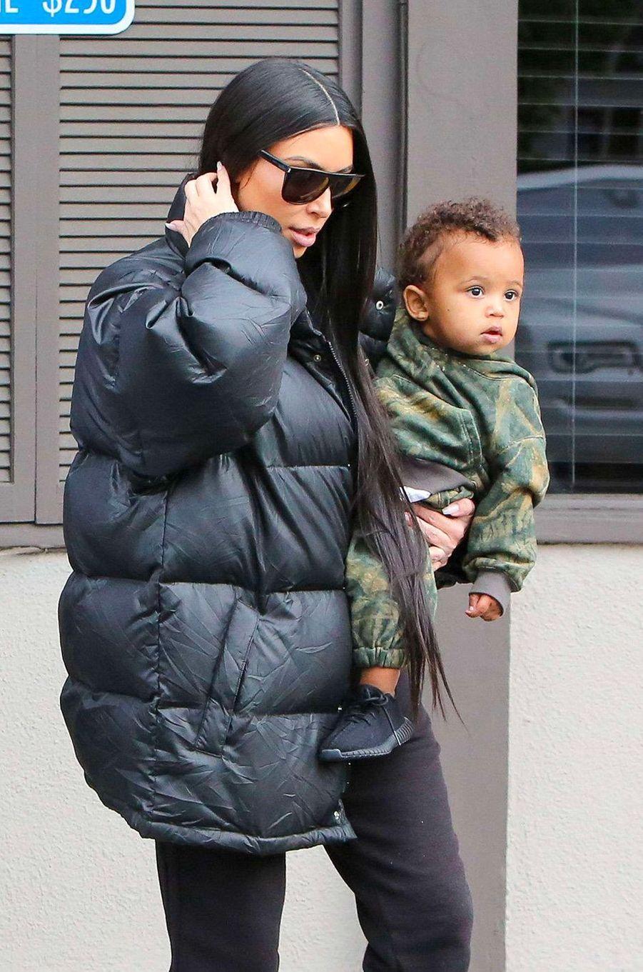 Kim Kardashian le 19 février 2017