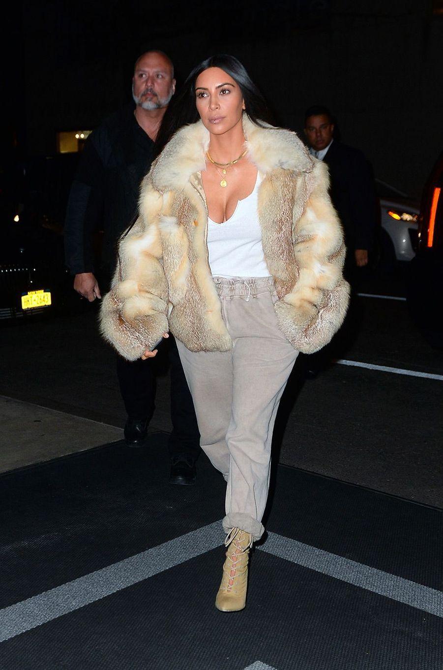 Kim Kardashian le 16 janvier 2017